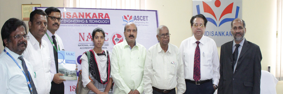 """ NAAC Expert Team Visit to ASCET """