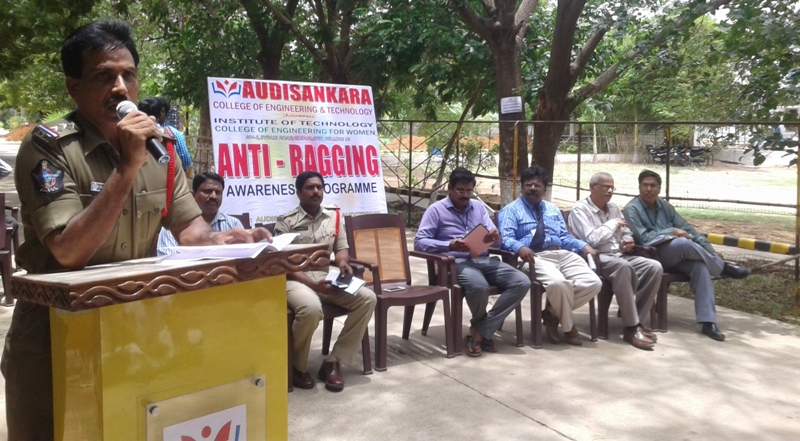 """ Anti-Ragging Awareness Programme """