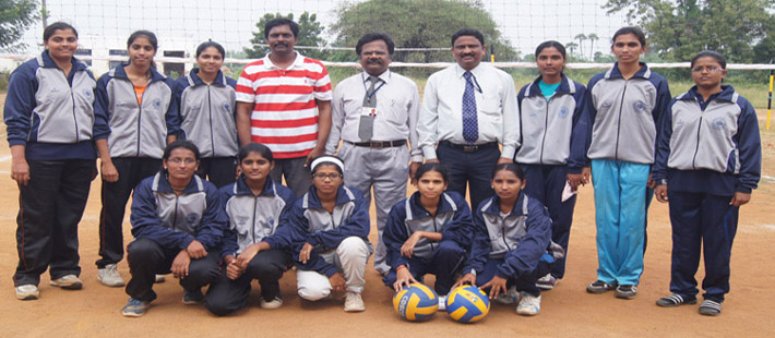 """ JNTUA, Women Volley Ball Coaching Camp at ASCET """
